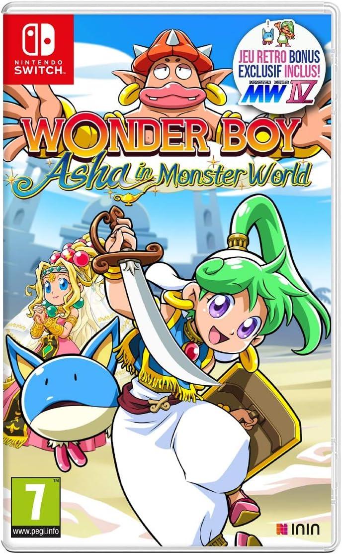 Wonder Boy [SWITCH] : Asha in monster world |