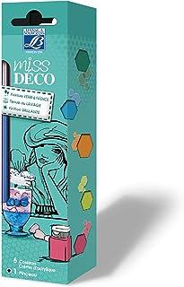 Lefranc & Bourgeois Miss Déco - Pinturas para cristal y cerámica (6 unidades x 20