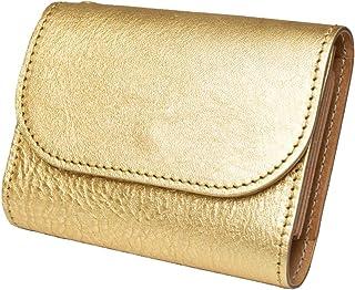 [コトカル] ミニ財布 本革 箔押し お札が折れない