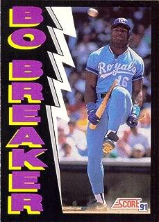 bo jackson 1991 score card