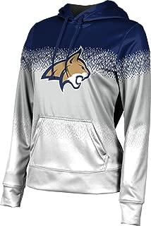 Montana State University Women's Pullover Hoodie, School Spirit Sweatshirt (Drip)