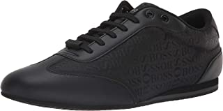 Hugo Boss Men's Lighter Low Boss Logo Nylon Sneakers