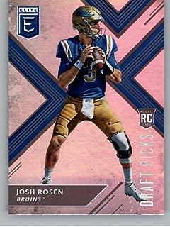 2018 Panini Elite Draft Picks #102 Josh Rosen (Blue Jersey) UCLA Bruins Football Card