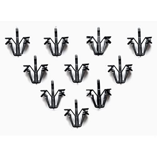 10 X Grill Grille Clips Toyota Hilux Pickup Mk3 Rn85 89 - 97 90 91 92