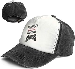 b89fc6cb057 XZFQW Daddy s Little Gamer Trend Printing Cowboy Hat Fashion Baseball Cap  for Men and Women Black