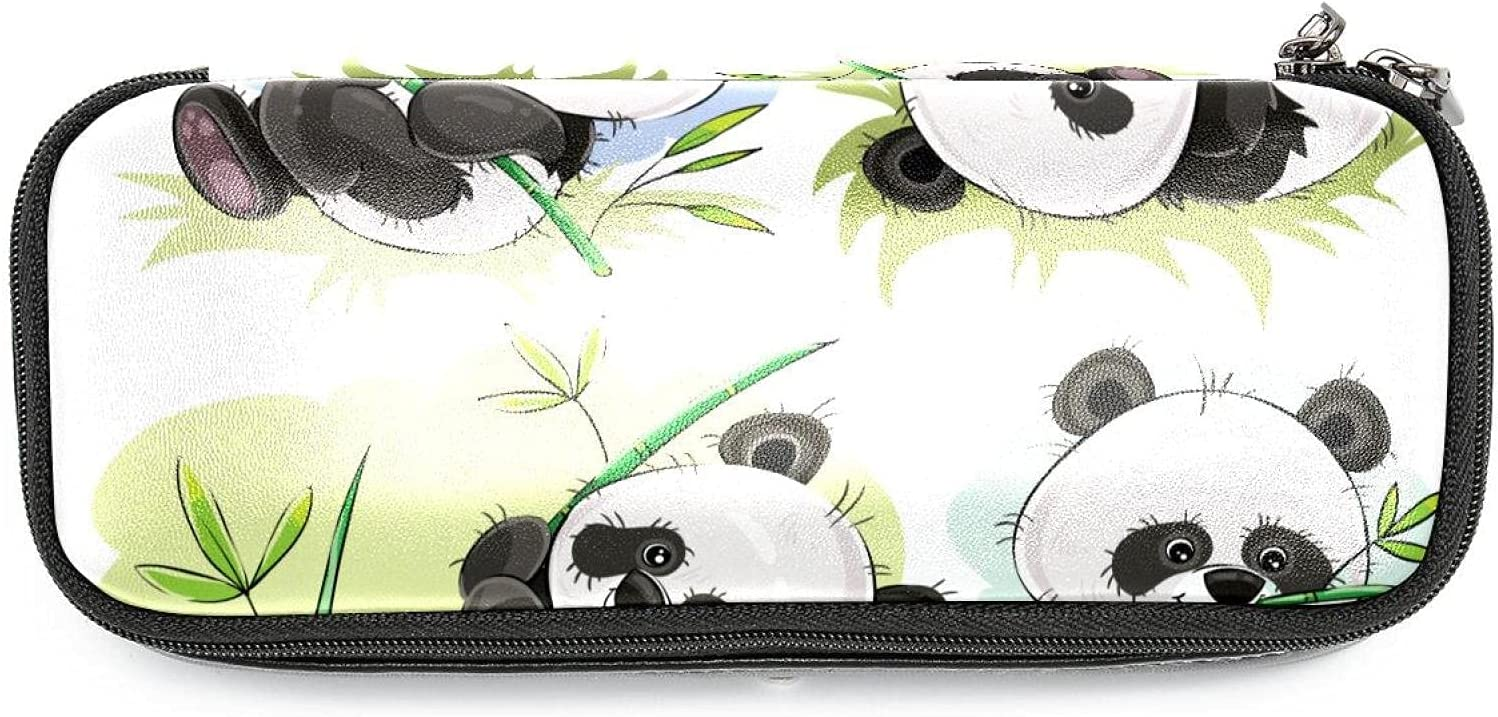 Classic NEW before selling half Bag Pen Pencil Stationery Panda Cute Pouch Case Cosmetic