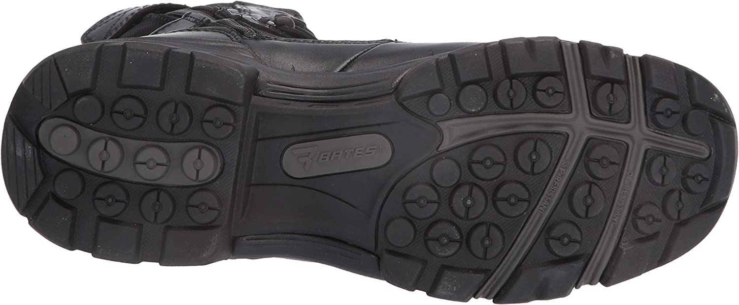 Bates Mens 8 Ultralite Tactical Sport Dryguard Wp Side Zip Industrial Shoe