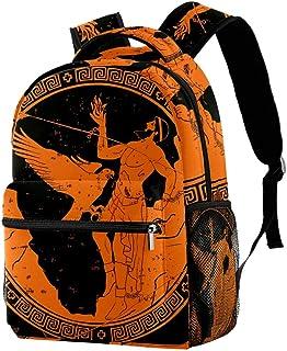 Ancient Greek God Prometheus Backpacks School Bookbags Casual Daypack Bag for Men and Women