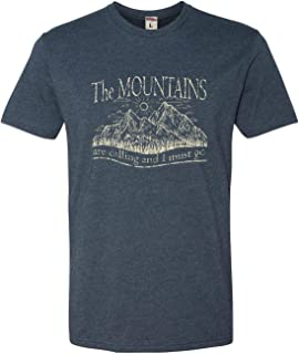 the mountains are calling shirt disney