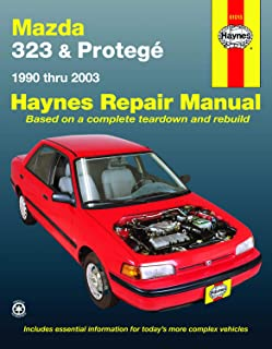 Mazda 323 & Protege (90-03) Haynes Repair Manual (Does not include information specific to 4WD models or turbocharged models. Includes vehicle coverage apart from the specific exclusion noted)