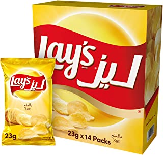 Lay's Salt 23gm x 14