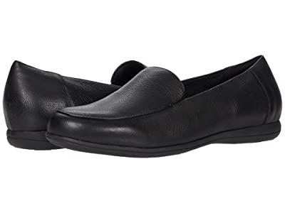 Trotters Deanna (Black Leather) Women