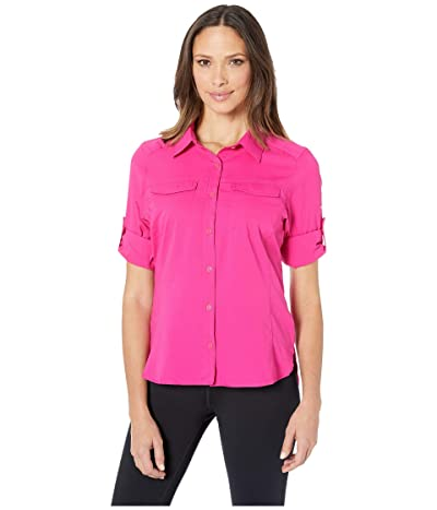 Columbia Silver Ridge Lite Long Sleeve Shirt (Haute Pink) Women