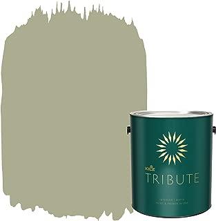 KILZ TRIBUTE Interior Matte Paint and Primer in One, 1 Gallon, Almost Sage (TB-88)
