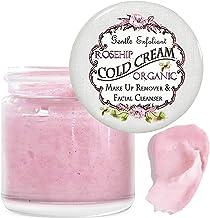 Organic Rosehip & Coconut Oil Moisturizer Face Cream Cleanser Balm Makeup Remover For All Skin Types Dry, Sensitive. Regen...