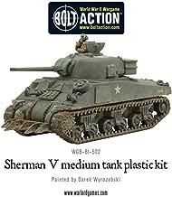Bolt Action Sherman V Tank 1:56 WWII Military Wargaming Plastic Model Kit