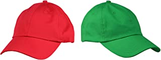 Mario and Luigi Hats Christmas Theme Hat Colors Halloween Costume Set Red Green