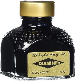DIAMINE 80 ml Bottle Fountain Pen Ink, JET BLACK