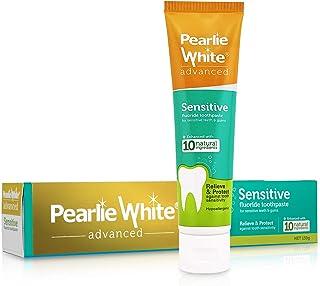 Pearlie White Advanced Sensitive Enhanced Fluoride Toothpaste (4.6oz) 130g