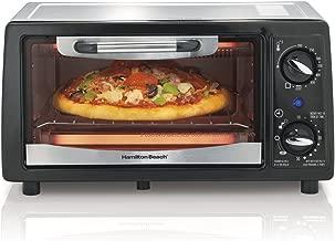 Hamilton Beach 31134 4 Slice Capacity Toaster Oven, Black, 1,