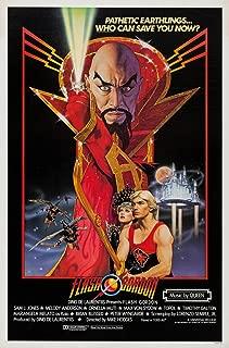 Flash Gordon Original One Sheet Movie Poster. 1980