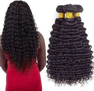 10A Brazilian Virgin Hair Pineapple Deep Wave 3 Bundles 18