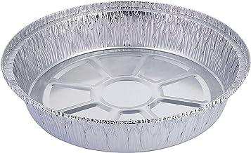 Bandeja de aluminio desechable de HBaker, para el congelador