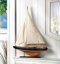 Bermuda Tall Ship Model Ocean Sail Boat NAUTICAL HOME DECOR
