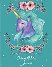 Cornell Notes Journal: Unicorn Sweet Dream, Note Taking Notebook, Cornell Note Taking System Book, US Letter 120 Pages Lar...