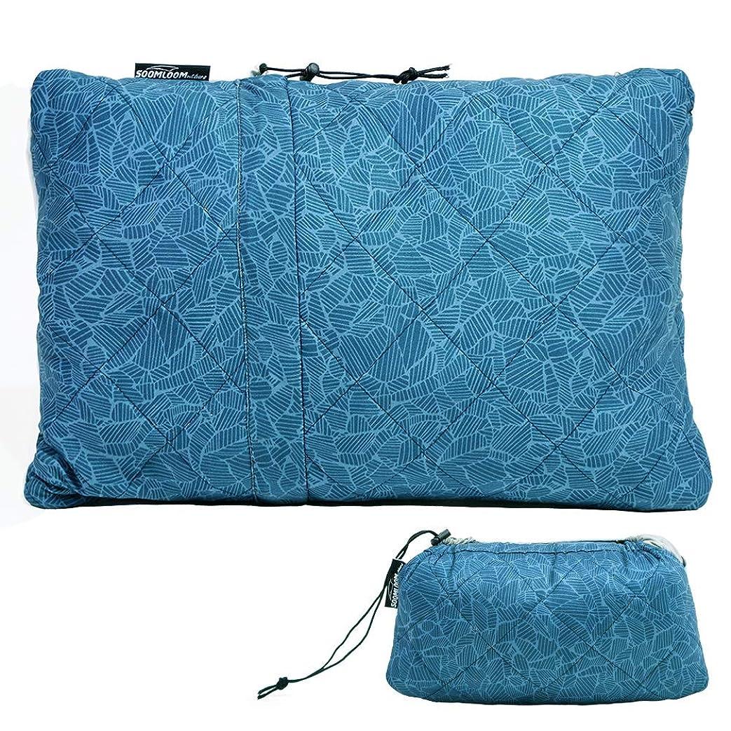 何でも失礼な第四Soomloom キャンプ枕 ピロー 携帯枕 超軽量 安眠 抱き枕 コンパクト アウトドア/キャンプ/旅/車中泊/オフィス用