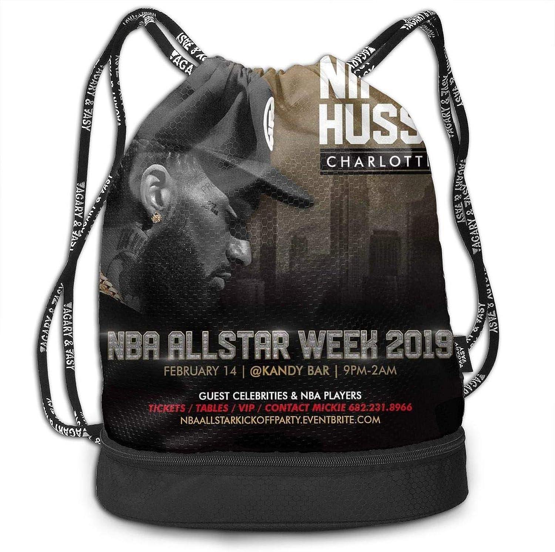 5f7d863b81470 Multifunctional Beam Backpack Travel Bag Unisex Fashion Drawstring Shoulder  Bag HusSLE Singer Sports Backpack Leisure Travel Bag Shoulder Bag Bundle ...