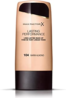 Max Factor Lasting Performance, Liquid Foundation, 104 Warm Almond, 35 ml