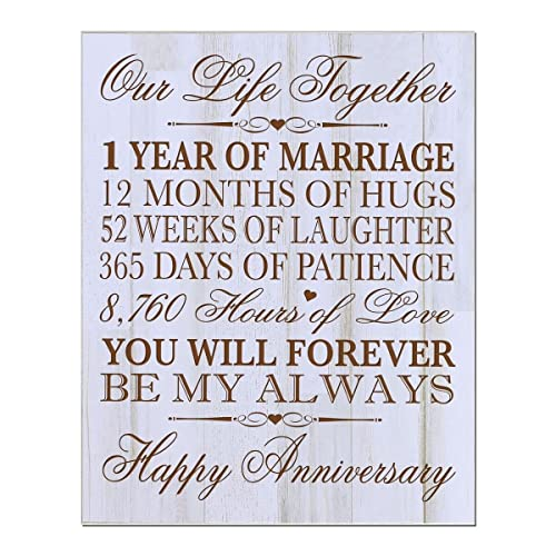 Six Year Wedding Anniversary Gift Ideas: 1st Yr Anniversary Gift: Amazon.com