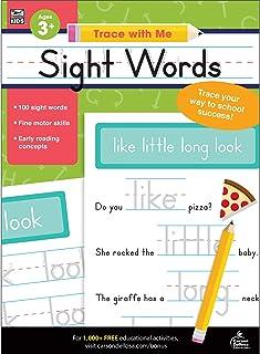 Carson Dellosa | Trace with Me: Sight Words Handwriting Activity Book | Preschool–2nd Grade, 128pgs