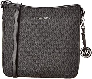 MICHAEL Michael Kors Jet Set Travel Large Logo Messenger (Black)