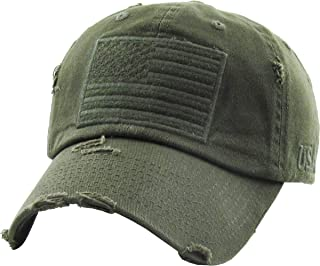 Men and Women Tactical Operator Collection with USA Flag Patch US Army Military Cap Fashion Trucker Twill Mesh