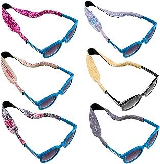 6pc Kids Neoprene Glasses Holder Neck Strap AntiSlip Sports Retainer