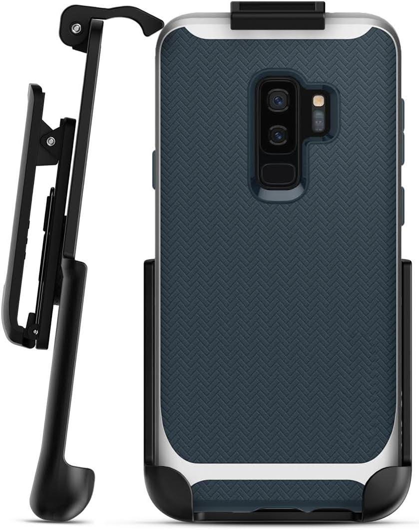 Belt Clip Holster for Spigen Neo Hybrid Case - Galaxy S9 Plus (Encased) Secure Fit Rotating Holster (case not Included)