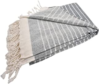 SULTANA Istanbul - (Set of 4) Turkish Terry Towel Quality (39x70) XL   Bath & Beach Towel Peshtemal   Extremely Absorbent   Wash Resistant   Turkish Cotton   Quick Dry   No Contraction (Multicolor)