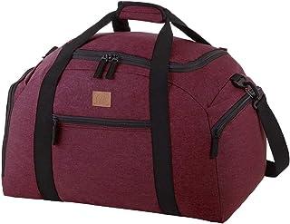 Rada Reisetasche Discover M 40 Liter Volumen, Wasserabweisende Sporttasche für Jungen und Mädchen, Reisetasche perfekt für den Kurzurlaub für Damen und Herren Bordeaux 2 Tone Cognac
