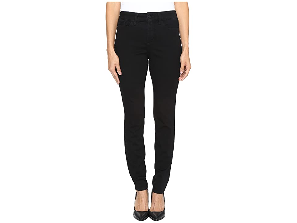 NYDJ Petite Petite Ami Skinny Leggings in Luxury Touch Denim in Black (Black) Women's Jeans