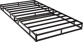 AmazonBasics Mattress Foundation / Smart Box Spring for Twin Size Bed, Tool-Free Easy Assembly - 5-Inch, Twin