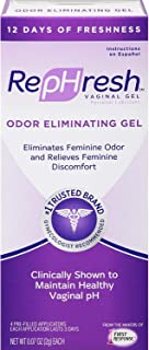 RepHresh Vaginal Gel, Odor Eliminating Gel, 4 ea (Pack of 2)