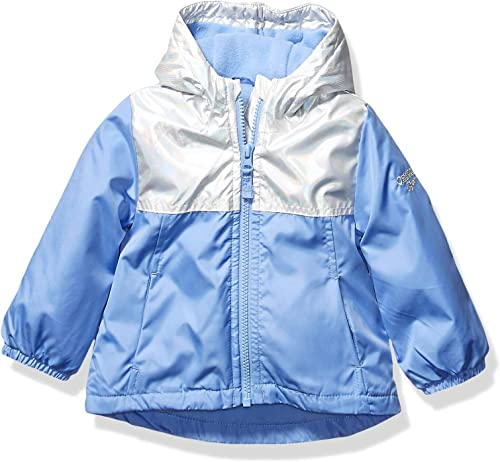 Osh Kosh Baby Girls Midweight Jacket with Fleece Lining, Hearts On Lilac, 18Mo