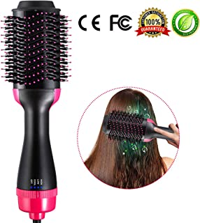 One Step Hair Dryer Brush Volumizer Styler Hot-Air Brushes Electric Hot Air Comb 2-in-1 Styling Tools & Appliances for All Hairstyles
