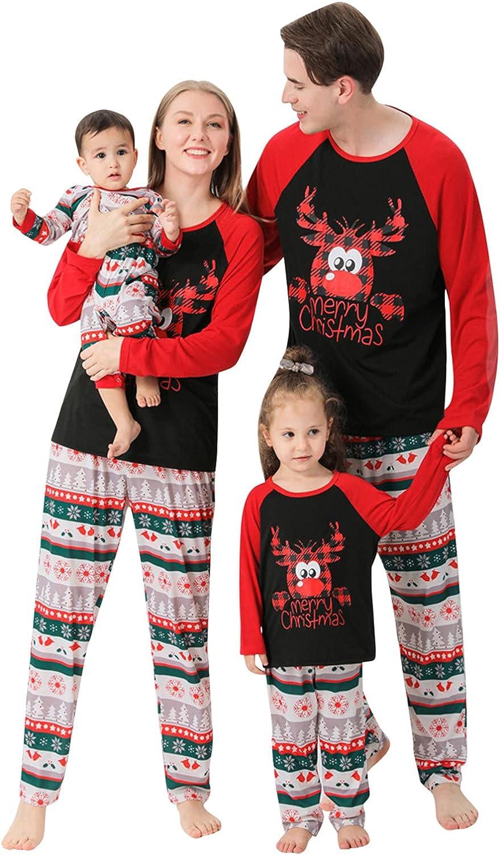 Christmas Matching Family Christmas Pajamas Set Womens Mens Sleepwear Holiday PJ Sets Family Pajamas