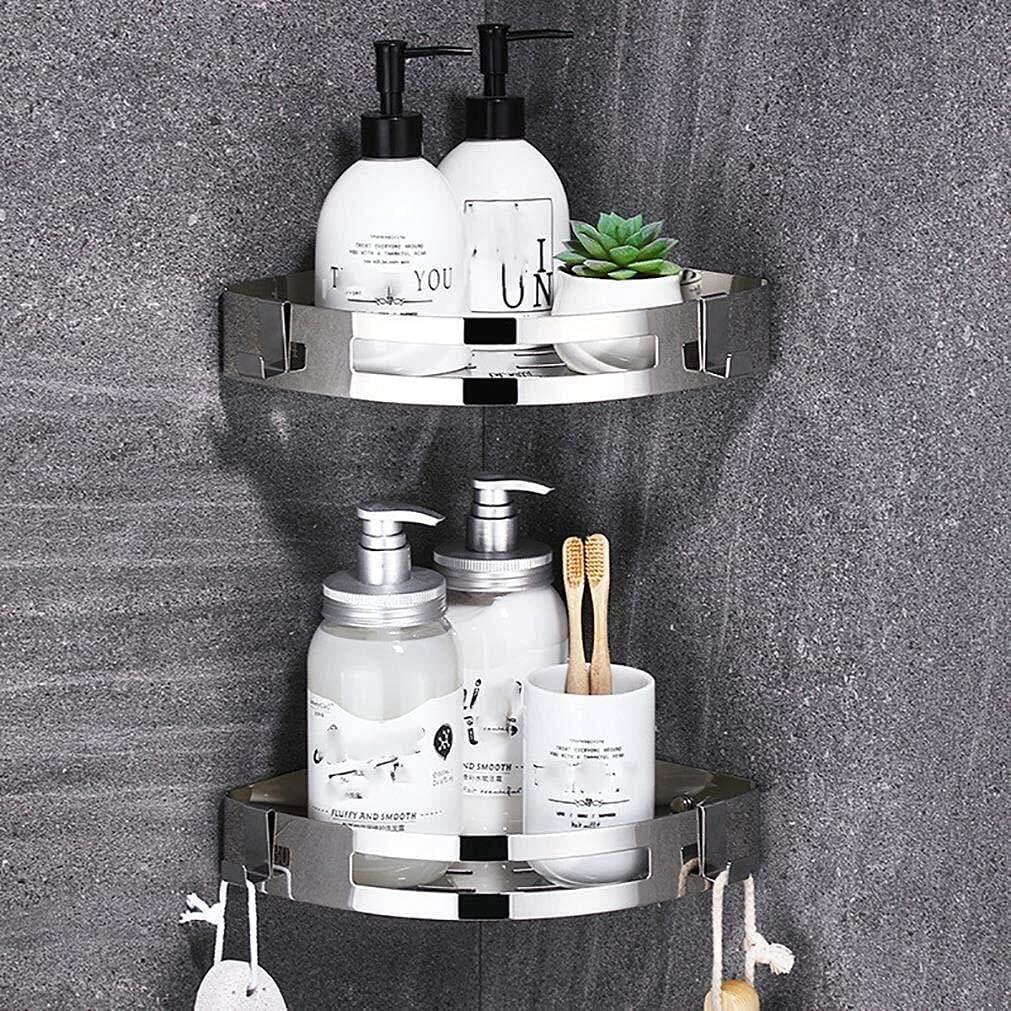 Packs Bathroom Shower Corner Shelf 30 New products, world's highest quality popular! Some reservation Drilling No Shelves