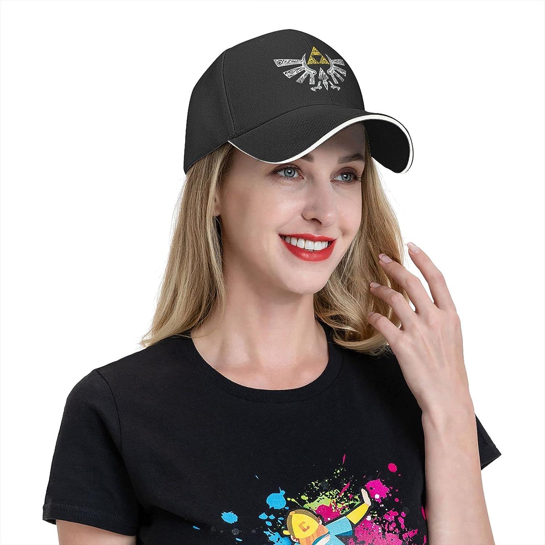GGraphic The Legend of Zelda Baseball Cap Sunshade Cloth Cap for Men and Women Fashion Adjustable Cap Black4