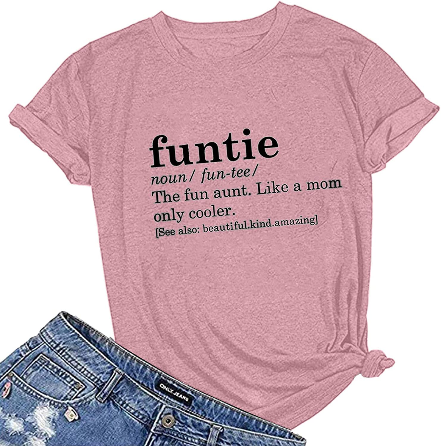 Aunt Shirts for Large special price !! Max 53% OFF Women with Funtie Funny - The Sayings