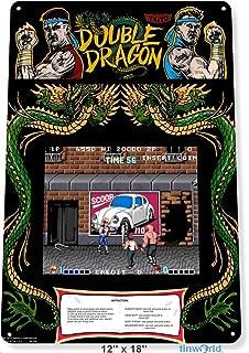 double dragon arcade art